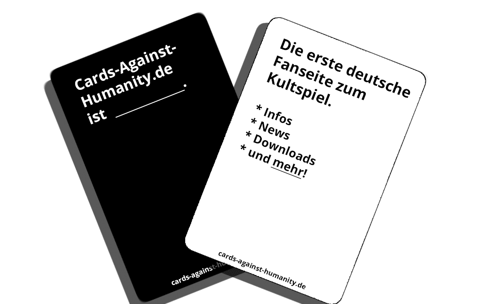 Cards Against Humanity Deutsch Karten