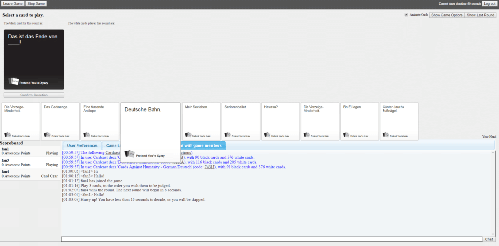 Pretend You're Xyzzy